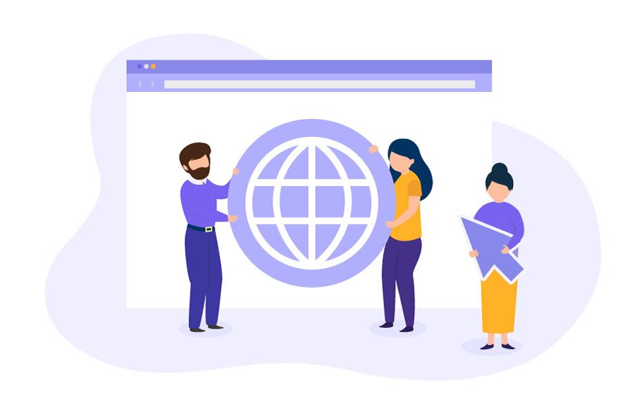 Brand and domain names in e-commerce development
