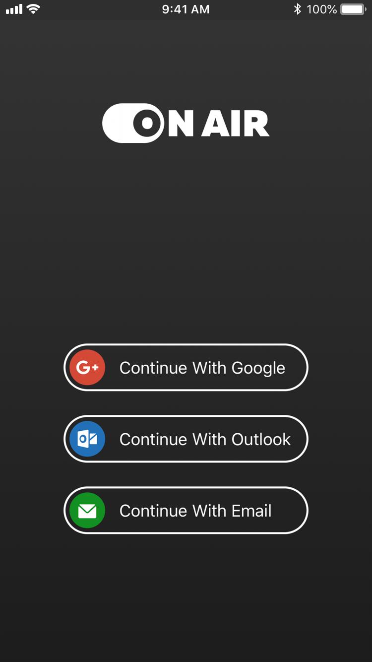 VoIP app  screen 3