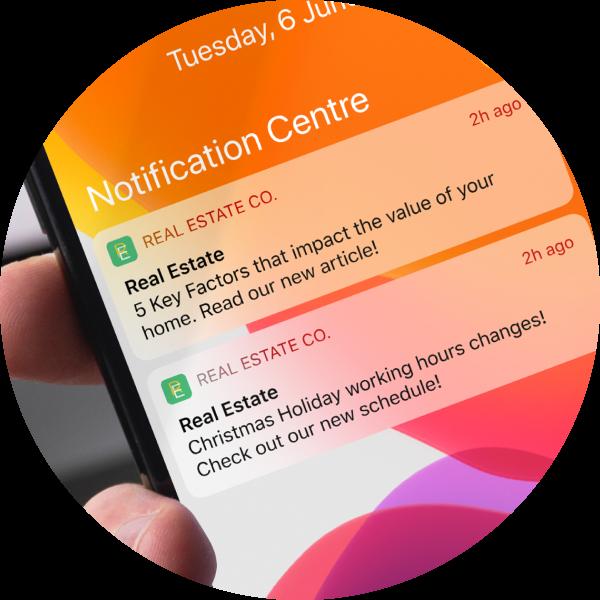 PUSH notifications, Mortgage Calculator