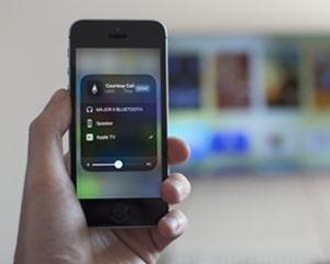 The image of Apple TV menu